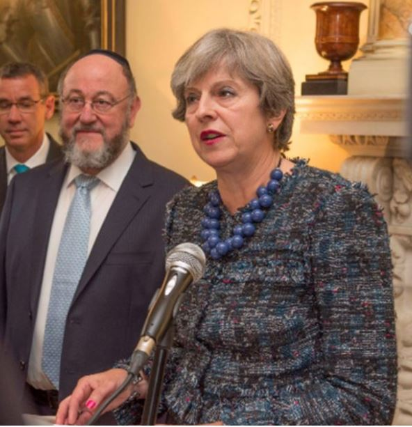 "THERESA MAY ""I AM PROUD TO SUPPORT ISRAEL"""